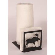 Coast Lamp Mfg. Moose Paper Towel and Napkin Holder