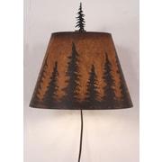 Coast Lamp Mfg. Pine Tree 1-Light Plug-In Flush Mount