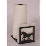 Coast Lamp Mfg. Horse Paper Towel and Napkin Holder