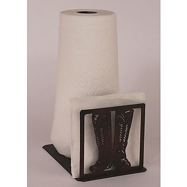 Coast Lamp Mfg. Boot Paper Towel and Napkin Holder