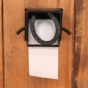 Coast Lamp Mfg. Horseshoe Wall Mounted Toilet Paper Box