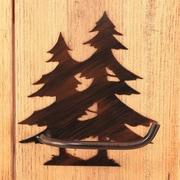 Coast Lamp Mfg. Pine Tree Wall Mounted Toilet Paper Holder