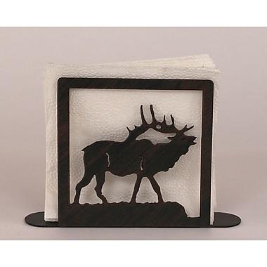Coast Lamp Mfg. Elk Napkin Holder
