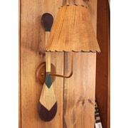 Coast Lamp Mfg. Paddle 1-Light Plug-In Armed Sconce