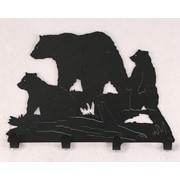 Coast Lamp Mfg. Bear Family Coat Rack