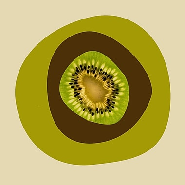 Marmont Hill 'September Kiwi' by Irena Orlov Painting Print on Wrapped Canvas; 40'' H x 40'' W