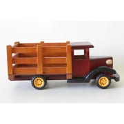 DestiDesign Truck Wood Statue Planter