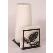 Coast Lamp Mfg. Pine Cone Paper Towel and Napkin Holder