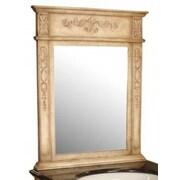 Empire Industries Verona Carved Mirror; Antique White