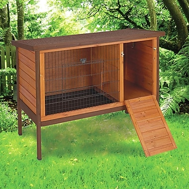 Ware Manufacturing Premium Rabbit Hutch; Tan