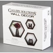 NielsenBainbridge 3 Piece Hexagallery Wall Decor set