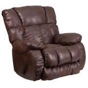 Flash Furniture Contemporary, Breathable Comfort Padre Espresso Fabric Rocker Recliner (WA8230690)