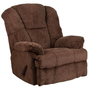 Flash Furniture Contemporary Hillel Chocolate Chenille Rocker Recliner (WM9745436)