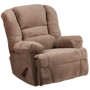 Flash Furniture Contemporary Dynasty Camel Microfiber Rocker/Recliner (WM9830801)