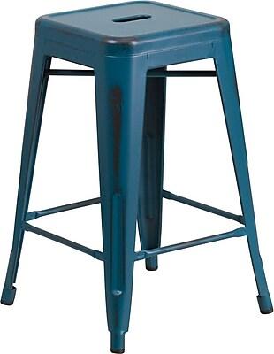 distressed metal furniture. Wonderful Metal Httpswwwstaples3pcoms7is On Distressed Metal Furniture