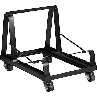 Flash Furniture – Chariot renforcé pour chaises empilables à pattes traîneau (HA1DOLLY)