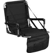 Flash Furniture Folding Stadium Chair in Black (TY2710BK)