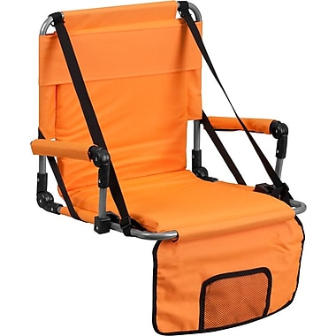 Flash Furniture – Siège pliant pour gradins, orange (TY2710OR)