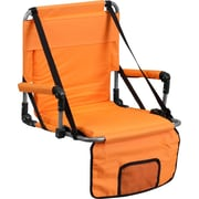 Flash Furniture Folding Stadium Chair Orange Each TY2710OR