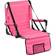 Flash Furniture Folding Stadium Chair, Pink (TY2710PK)