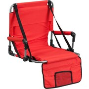 Flash Furniture Folding Stadium Chair, Red (TY2710RED)