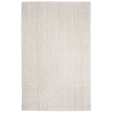 Anji Mountain 5' x 8' Andes Ivory Jute Rug (AMB0338-0058)