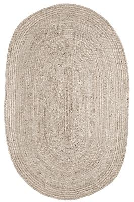 Anji Mountain 6' x 9' Kerala Ivory Jute Rug (AMB0340-069OV)