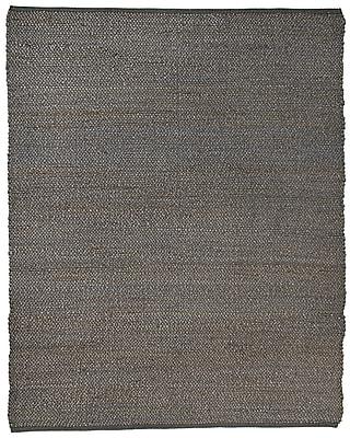 Anji Mountain 4' x 6' Portland Gray Jute Rug (AMB1031-0046)