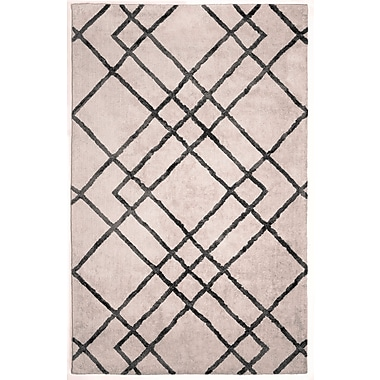 Anji Mountain Astralis Collection 9' x 12' Diamond Dogs, Ivory/Gray Rug ( AMB0612-0912 )