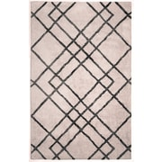 Anji Mountain Astralis Collection 5' x 7' Diamond Dogs, Ivory/Gray Rug ( AMB0612-0057 )