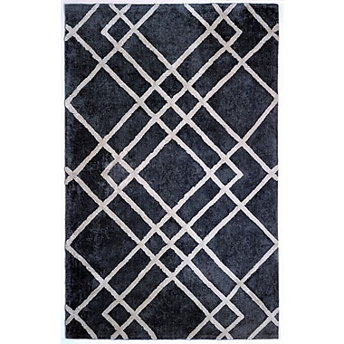 Anji Mountain Astralis Collection 8' x 10' Diamond Dogs, Grey/Ivory Rug (AMB0613-0810)