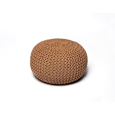 Anji Mountain Natural Jute Pouf Round (AMB0009-16RD)