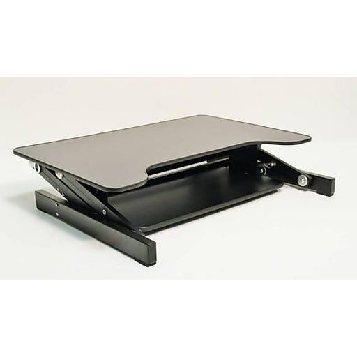 Rocelco Adr Sit To Stand Adjustable Desk Riser 32 Quot Wide