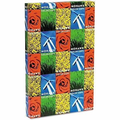 """Mohawk® Color Copy 98 11"""" x 17"""" 24 lbs. Smooth Imaging Paper, Bright White, 500/Ream"""
