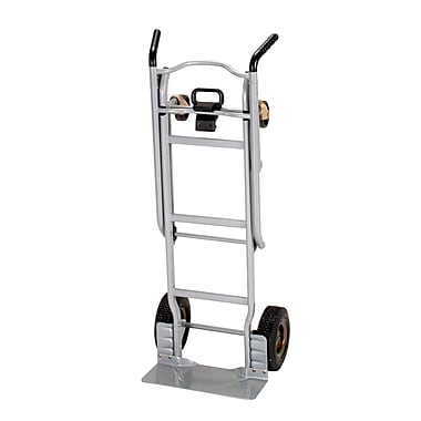 Cosco 2-in-1 Steel Hand Truck, 600 lb Capacity