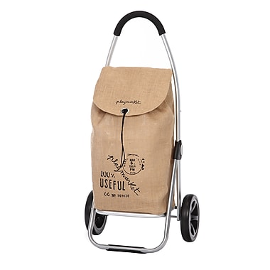 Go Two Shopping Trolley, Brown Sack