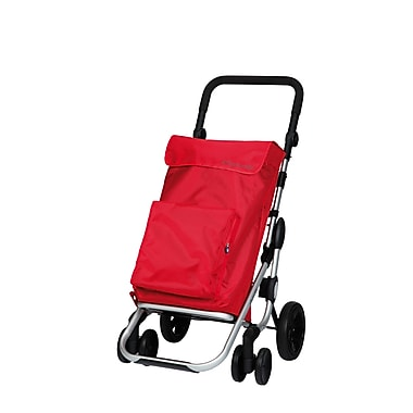 Chariot de magasinage Go Plus, rouge