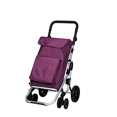 Chariot de magasinage Go Plus, prune