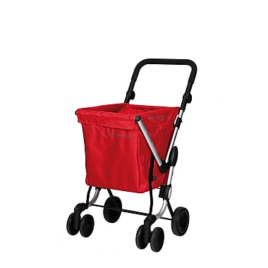 Chariot de magasinage We Go, rouge