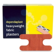 Dependplast Adhesive Knuckle/Anchor  Bandages, Fabric, 50/Pack