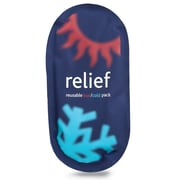 Relief Reusable Hot or Cold Pack, Large, 2/Pack