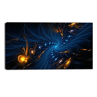 Designart Illumination Abstract Canvas Art Print, 40