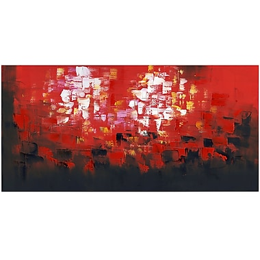Designart Be Square Gallery-Wrapped Canvas Print, (PT741-80X40-1P)
