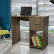 Ebern Designs Althea Wood Computer Desk; Oak