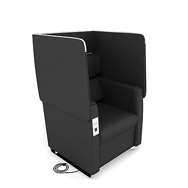 OFM Morph Series Soft Seating Chair, Midnight (2201-MDN)
