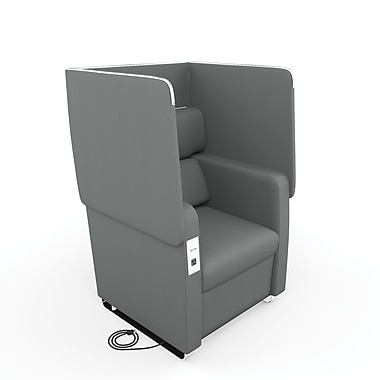 OFM Morph Series Soft Seating Chair, Slate Gray (845123054000)