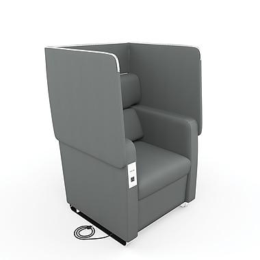 OFM Morph Series Soft Seating Chair, Slate Gray (2201-SLT)