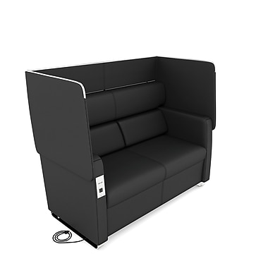 OFM Morph Series Soft Seating Sofa, Midnight (845123054024)