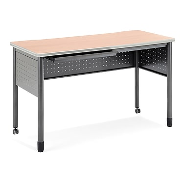 OFM Mesa Series Standing Height Training Table/Desk with Drawers 27.75