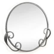 D'Vontz Iron Monterrey Mirror; Pewter